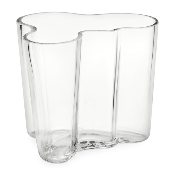 Small Clear Aalto Vase